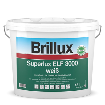 Brillux Superlux ELF 3000 / 10 Liter 0095 weiß L