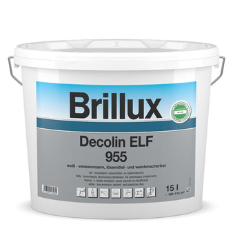 Brillux Decolin ELF 955 / 10 Liter weiß 0095 L